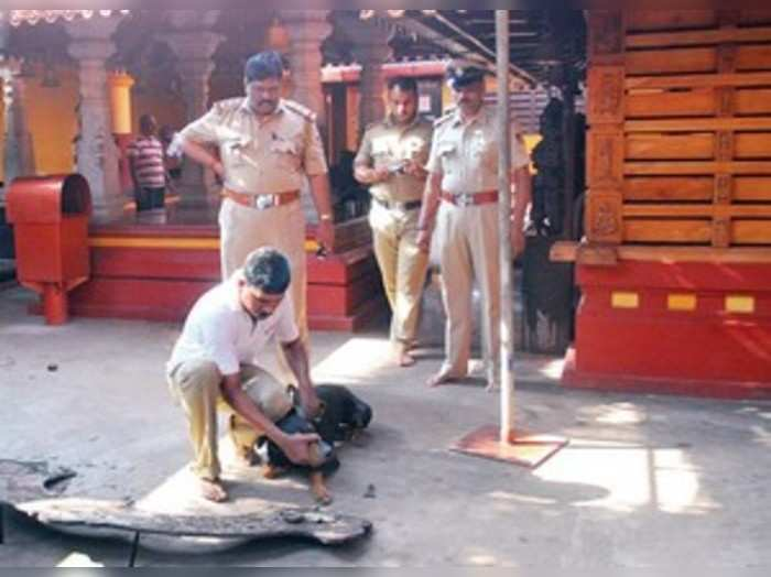 ಈಶ್ವರಮಂಗಲ: ಪಂಚಲಿಂಗೇಶ್ವರ ದೇವಸ್ಥಾನಕ್ಕೆ ಕಳ್ಳರ ಕನ್ನ