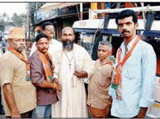 कन्याकुमारी में BJP के समर्थन में उतरे चर्च के पादरी