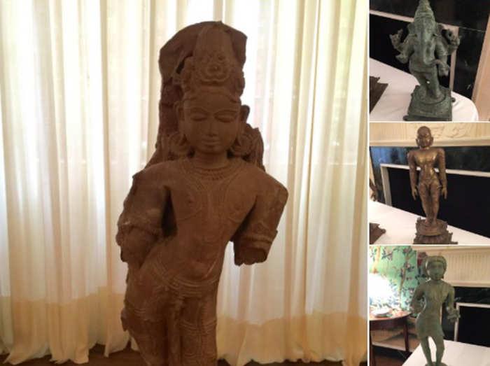 अमेरिका ने भारत को लौटाईं $10 करोड़ की 200 कलाकृतियां