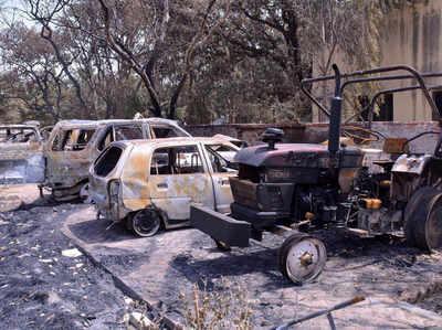 मथुरा के जवाहर बाग पार्क में हुई थी हिंसा (फाइल फोटो)।