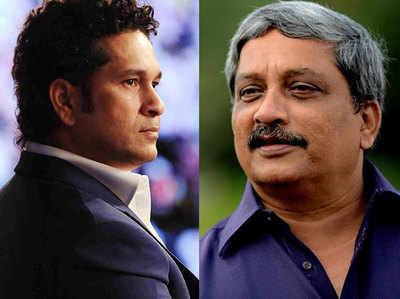 DRDO से विवाद में तेंदुलकर ने मांगी पर्रिकर से मदद