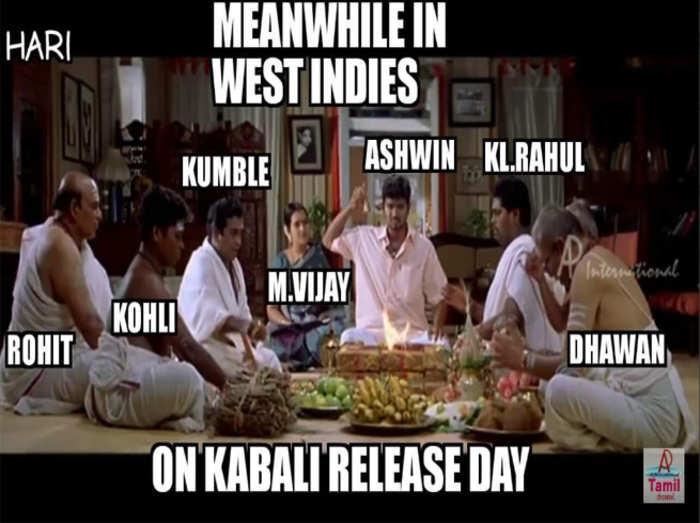 टीम इंडिया के इन खिलाड़ियों पर भी चढ़ा कबाली फीवर