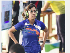 Qualification round exit for Heena Sidhu in womens 25m pistol
