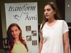 Avni Gandhi wellness video session at Campus Princess 2016 season 2