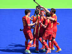 belgium beat india by 3 1 in mens hockey