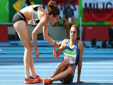 sportsmanship of a american athele