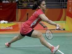 Olympics 2016 Saina Nehwal hospitalised for knee injury sustained during Rio games