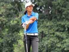 Aditi ashok Indian golfer makes confident among Indian Womens