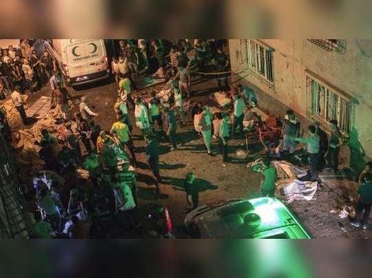 துருக்கி குண்டுவெடிப்பு: 22 பேர் பலி; 94 பேர் படுகாயம்