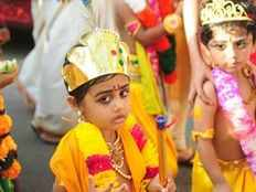 Krishna Janmashtmi celebration in Kerala