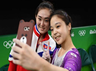 North korean Olympian Hong Un jong to be punished for the selfie with Lee Eun ju of South Korea