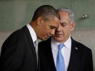 obama and nethanyahu