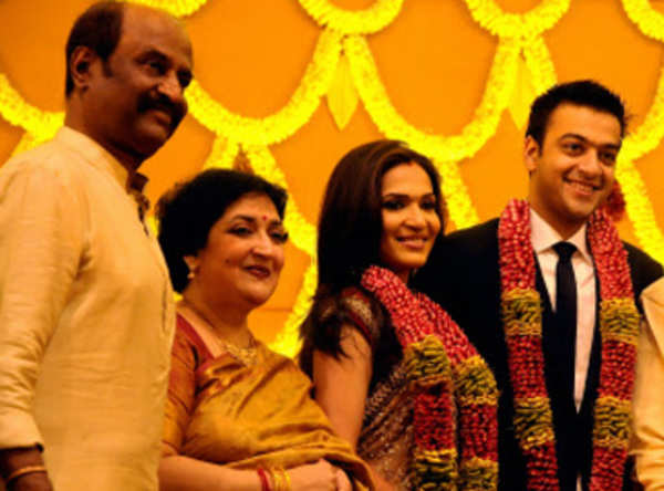 Rajinikanth does not interfere in his daughters life