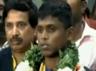 Paralympics gold medal winner Mariappan returns to TamilNadu