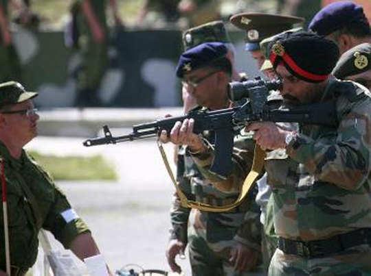 सेना ने फिर शुरू की न्यू-जेनरेशन असॉल्ट राइफल की तलाश