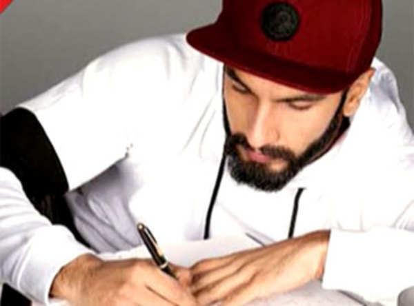 Ranveer Singh turns writer