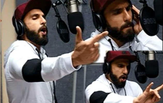 म्यूज़िक वीडियो के लिए रैपर बने रणवीर सिंह