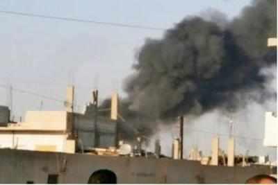 सीरिया में विद्रोहियों और सरकारी बलों के बीच संघर्ष जारी है।