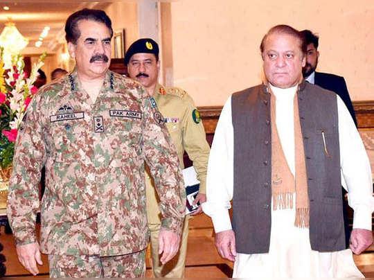 तनाव में है पाकिस्तान? फिर मिले नवाज और राहील