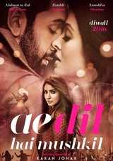 Ae Dil Hai Mushkil ADHM movie review Cast Sotry and Rating