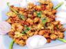 Pakoda with soya chunks recipe
