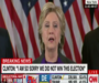 Hillary Clinton says Never stop fighting for whats right it is worth it