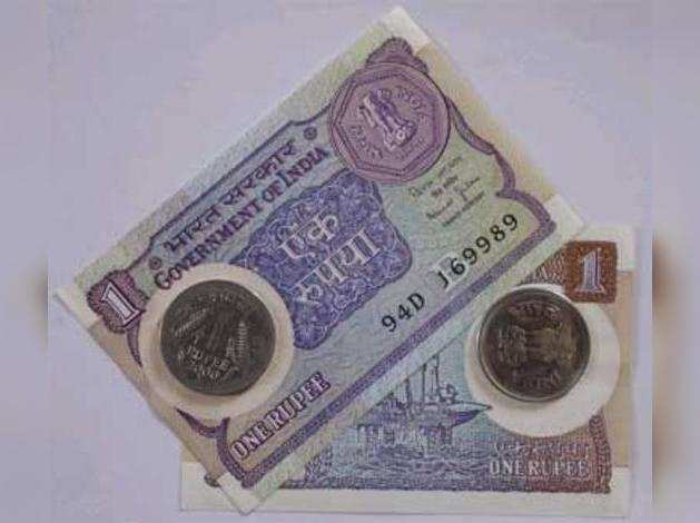 Rupee  dollar;