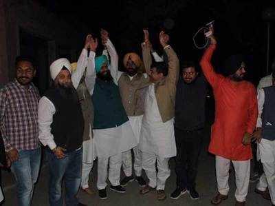 बैंस ब्रदर्स और AAP नेता संजय सिंह