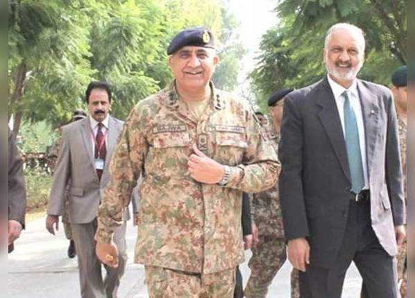 पाकिस्तान आर्मी चीफ कमर जावेद बाजवा का इंडियन कनेक्शन