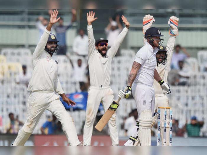 चेन्नै टेस्ट: टीम इंडिया ने बना डाले इतने सारे रेकॉर्ड