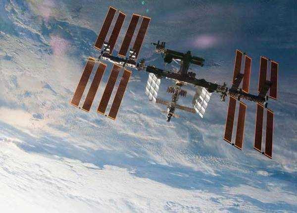 ...जब सूरज के पास से गुजरा ISS