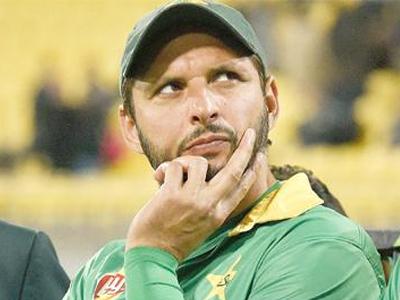 पाकिस्तानी क्रिकेटर शाहिद अफरीदी