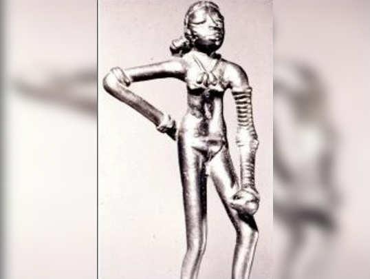 গেরুয়া ইতিহাসে সিন্ধু নর্তকীই পার্বতী