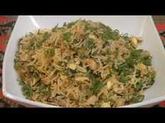 Recipe How to make Mushroom egg fried rice