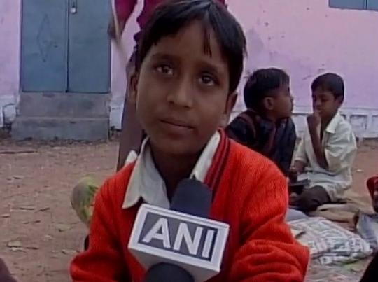 दलित के घर बना मिड-डे-मील, बच्चों का खाने से इनकार