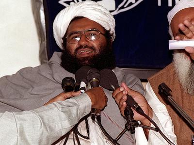 मसूद अजहर (फाइल फोटो)।
