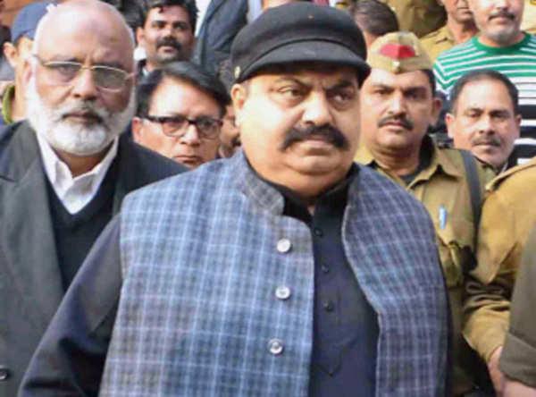 former samajwadi party mp atiq ahmed arrested for violence at university campus