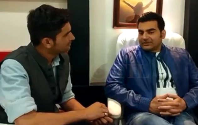 देखिए, अरबाज खान के साथ खास बातचीत