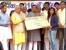 Haryana Sports Minister Anil Vij refuted Sakshi Maliks allegations