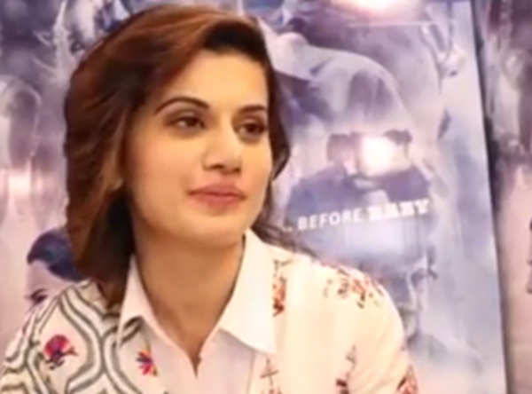 watch exclusive interview with taapsee pannu