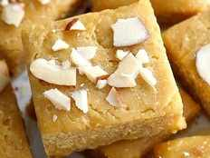 Recipe How to make Burfi with rice