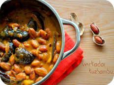 groundnut kuzhambu recipe in tamil
