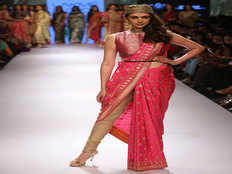 belted saris are introduced in india