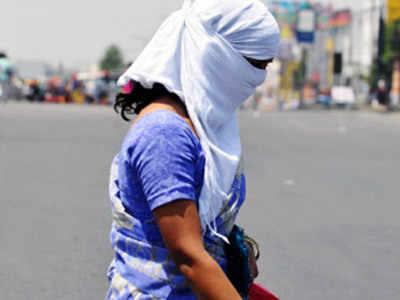 गर्म हवाओं के कारण सड़कें सुनसान पड़ने लगी हैं