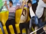 that cringeworthy moment when a woman lost her pants in an odd brazilian amusement park ride