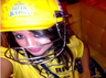 sakshi posts selfie with chennai super kings helmet