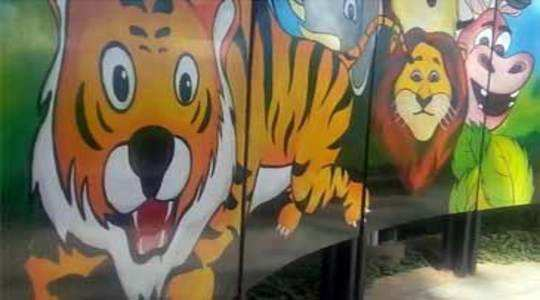 Watch: Delhi Street Art gives a new look to Children's Park