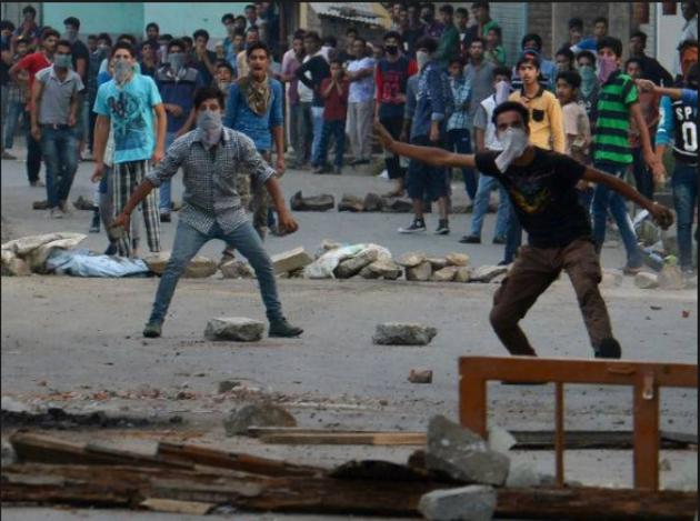 kashmir agitation