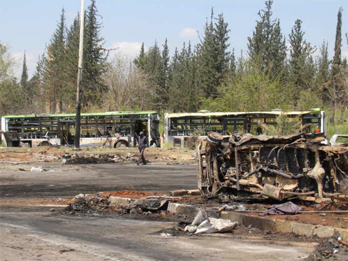 सीरिया: आत्मघाती हमले में 126 समेत उड़ गई 68 बच्चों की जिंदगी