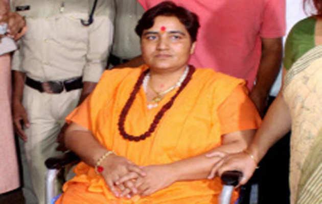 मैं कांग्रेस की साजिश का शिकार हुई: साध्वी प्रज्ञा ठाकुर